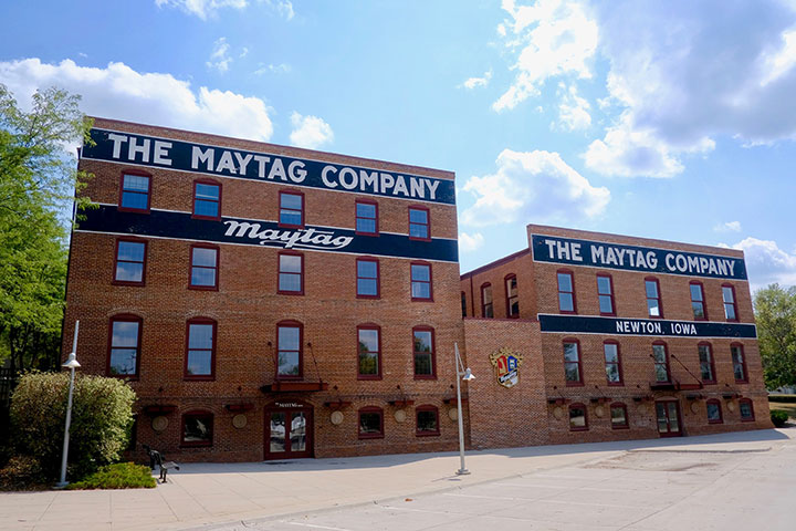 The Maytag Event Complex exterior